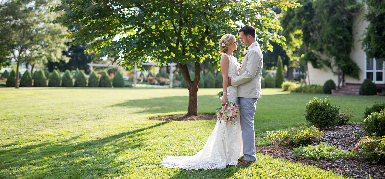 Outdoor wedding photography in Western MA